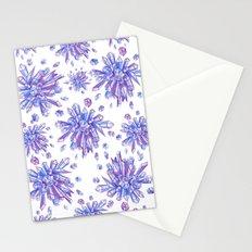 Zero Gravity Crystals II Stationery Cards