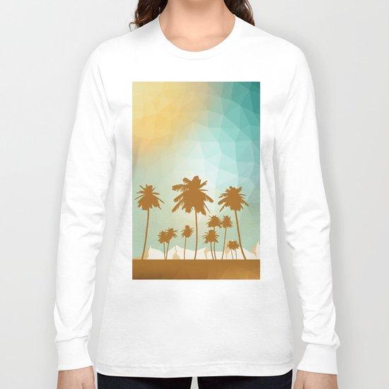 Palms at desert Long Sleeve T-shirt