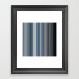 Scanline   Ocean 100 Framed Art Print