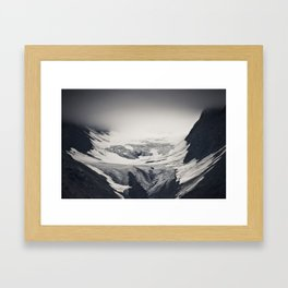 concave Framed Art Print