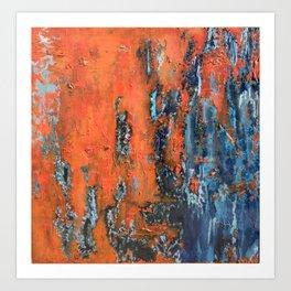 Oxidation II Art Print