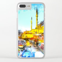 Istanbul Art Clear iPhone Case