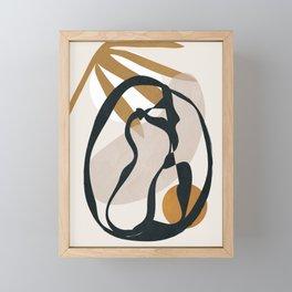 Abstract Shapes 35 Framed Mini Art Print