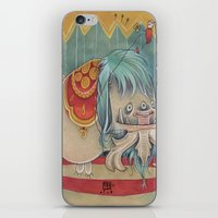 DANCING SCAREDY MONSTER iPhone & iPod Skin