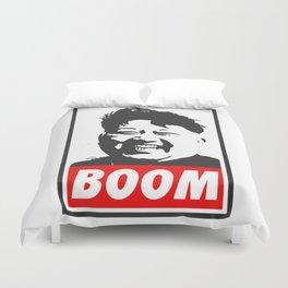 Boom (Kim Jong Un) Duvet Cover