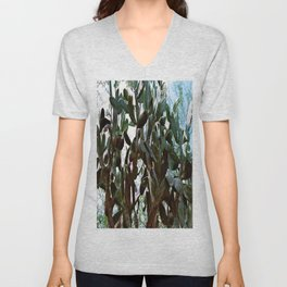 Big cactus Unisex V-Neck