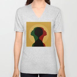 African Roots Unisex V-Neck