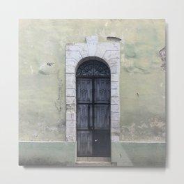 The Doors of Merida III Metal Print