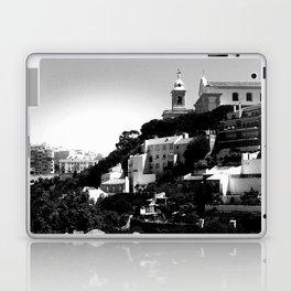 Portugal Hills, Lisbon | Black & White Laptop & iPad Skin