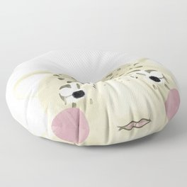 The Snow Leopard Floor Pillow