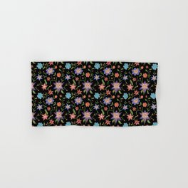 Multicolor flowers with cats Hand & Bath Towel