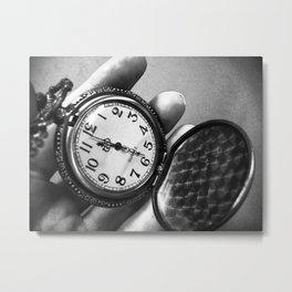 timepiece Metal Print