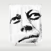 jfk Shower Curtains featuring JFK by Mullin