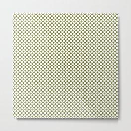 Woodbine Polka Dots Metal Print