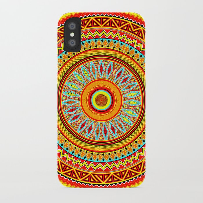 Mandala Aztec Pattern 5 iPhone Case