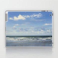 Blue sky, blue sea Laptop & iPad Skin
