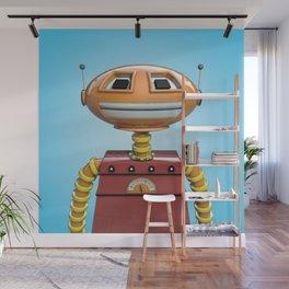 Scott the robot. Wall Mural