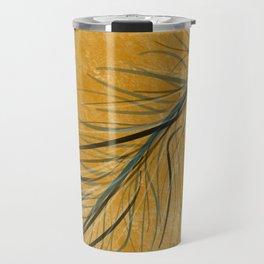 Fall feather Travel Mug