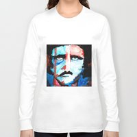 poe Long Sleeve T-shirts featuring Poe by J. John Whitmore