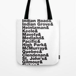 Junction& Tote Bag