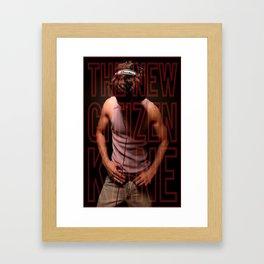 Hey DJ, Play My Song! Framed Art Print