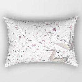 Origami Folds Rectangular Pillow