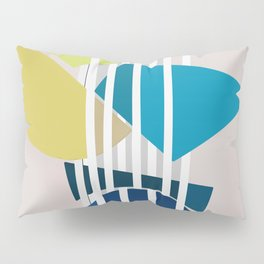Abstract Composition 488 Pillow Sham