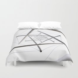Infinite Geometry Duvet Cover