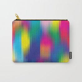 color pixel Carry-All Pouch