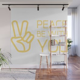 Christian,Bible Quote,peace be with you Wall Mural