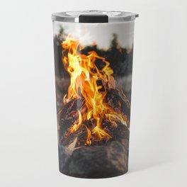 Campfires along the Coast Travel Mug