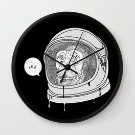 One Small Step, One Giant Ape Wall Clock