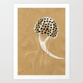 Biomorph 7 Art Print