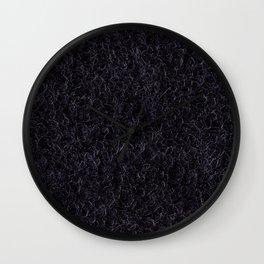 Nylon Shag Carpet. Wall Clock