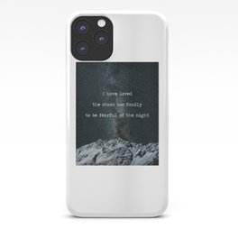 Galileo Galilei Quote on Stars iPhone Case