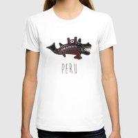 peru T-shirts featuring Ancient Peru by Franco Olivera