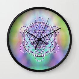 Merkaba Energy Wall Clock