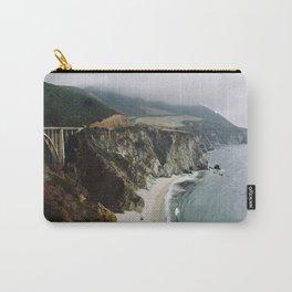 Bixby Bridge and Beach, CA Carry-All Pouch