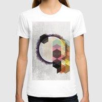 scandinavian T-shirts featuring Geometric Abstract Art, Modern, Minimal, Scandinavian, nordic by Easyposters