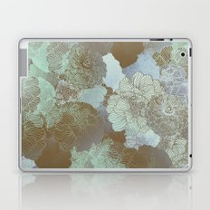 Cambridge Blue Floral Hues Laptop & iPad Skin