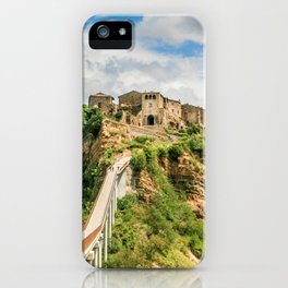 Village in the clouds iPhone Case