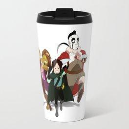 """""""Run Away!"""" - Dungeons & Doritos Travel Mug"""