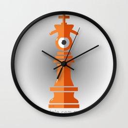 king eye Wall Clock
