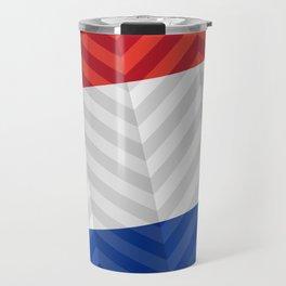 Dutch Flag Travel Mug