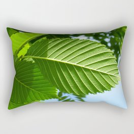 Crisp Leaves Rectangular Pillow