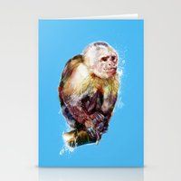 monkey Stationery Cards featuring Monkey by beart24