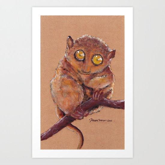 Tarsier Art Print