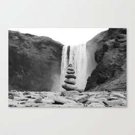 Iceland Skogafoss 1 Canvas Print
