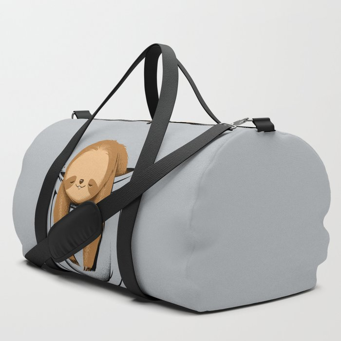 Sloth_in_a_Pocket_Duffle_Bag_by_Tobe_Fonseca__SET_OF_3