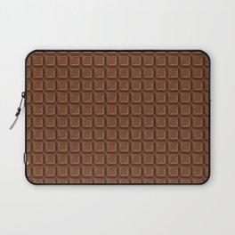 Just chocolate / 3D render of dark chocolate Laptop Sleeve